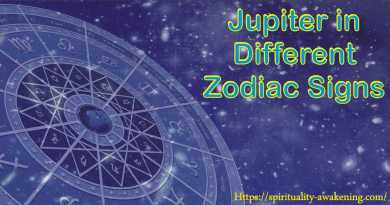 jupiter in different zodiac signs