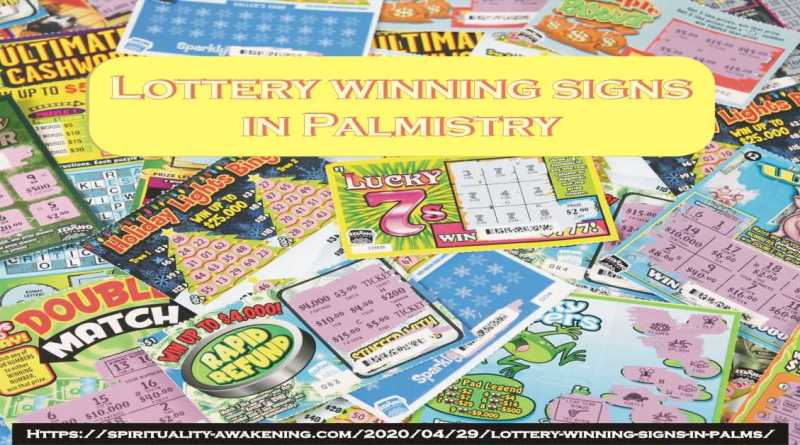 lottery wining signs in palms