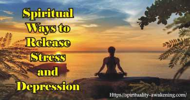 spiritual ways to release stress