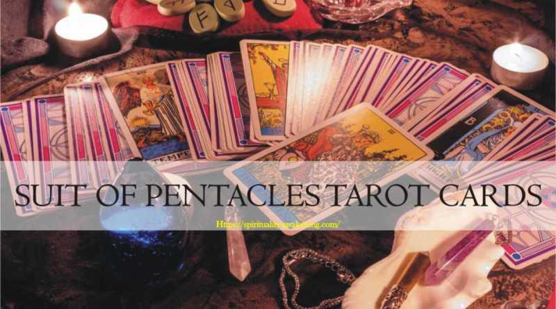 suit of pentacles tarot card