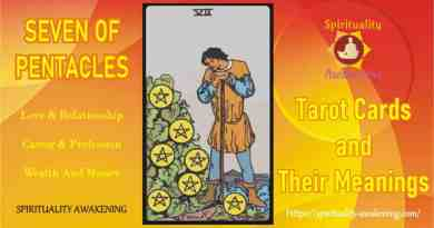 seven of pentacles tarot card