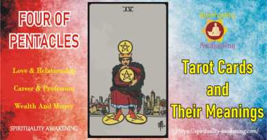 four of pentacles -- 4 of pentacles