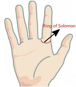 ring of solomon -- rings in palmistry