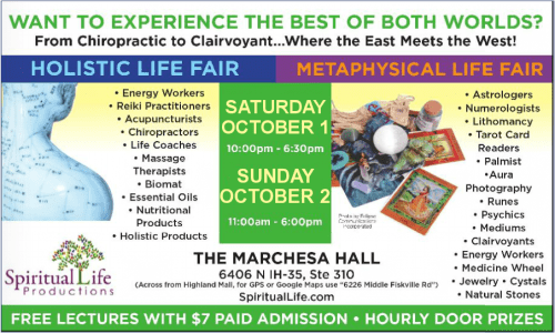 Austin Metaphysical and Holistic Life Expo - October 2016