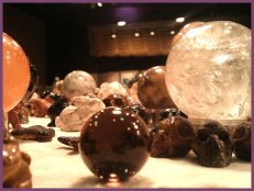 Austin Metaphysical Life Fair - Texas - Crystal balls and skulls
