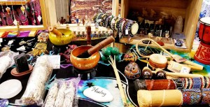 Pendulums, Singing Bowls, and Smudging Supplies at the Metaphysical Life Fair