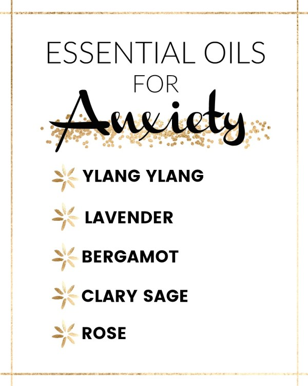 essential oils that help with anxiety