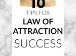 I've been using the law of attraction to manifest my desires for over 5 years - it's a journey and I'm still learning, but I've picked up some tips along the way that will help you to see fast success and allow you to start living your best life.