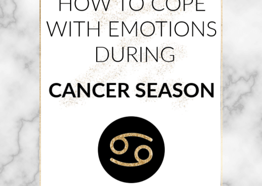 As the sun moves through the emotional, sensitive territory of Cancer, things are getting intense! This post has tips on how to navigate Cancer season.