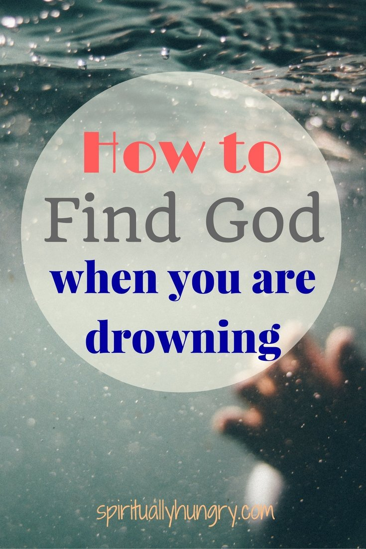 Overwhelmed? Scared? Troubled? Can't seem to find God. Take heart, you aren't the only one who has felt this way. Join spirituallyhungry.com as we explore how to keep your eyes focused on God not your circumstances.