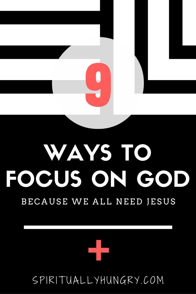 We all face different things in life, sometimes stormy seas and sometimes calm ones. Throughout life God is walking with you and is making you a beautiful creation. Our task to realize and accept that. In Spiritually Hungry's new post, we will discuss this very topic and give you 9 practical ways to focus your eyes on God who is walking with you!