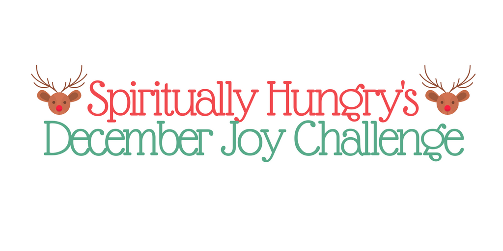This Challenge has been designed to help you take on the Fruit of the Spirit: Joy!
