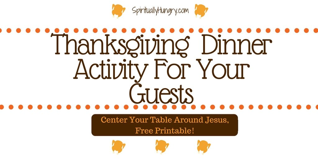 Thanksgiving | Dinner Discussion | Christian Practices