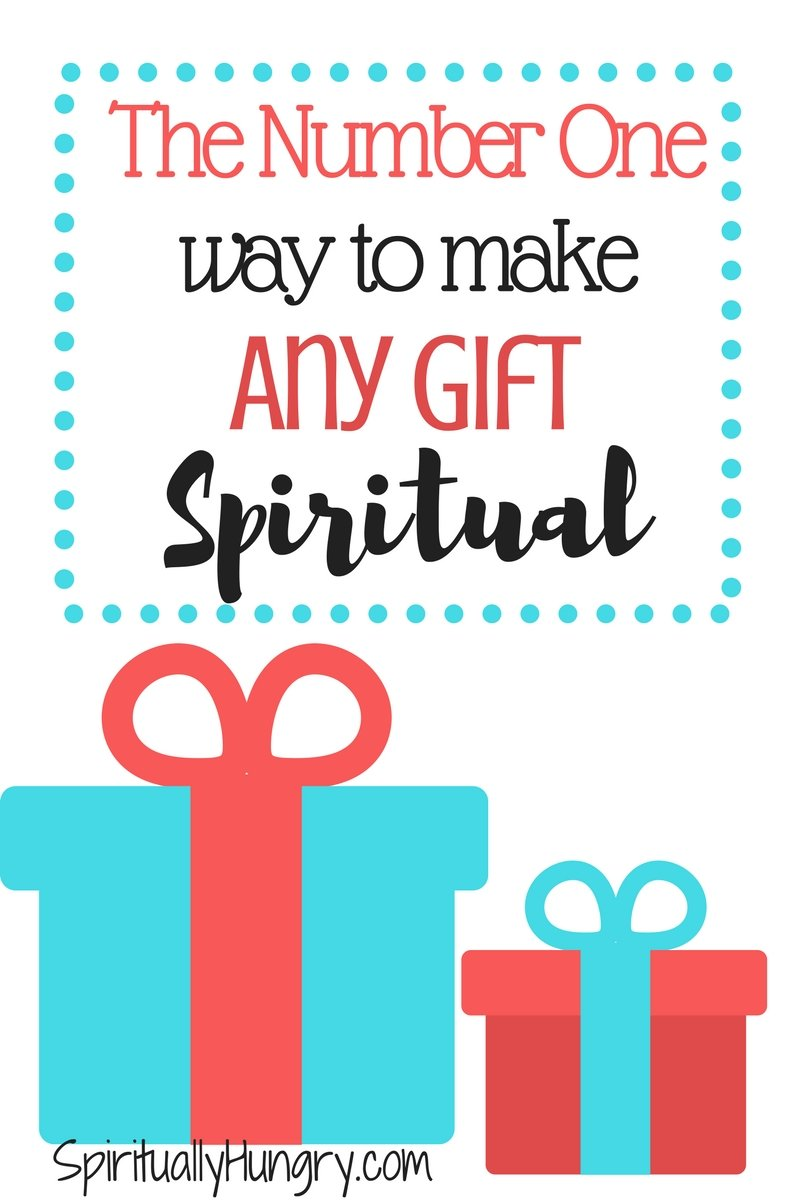 Want to transform YOUR experience in gift giving? Tired of feeling like you're just throwing down cash on presents that don't really mean anything? Let us help you think about giving gifts in a new light!