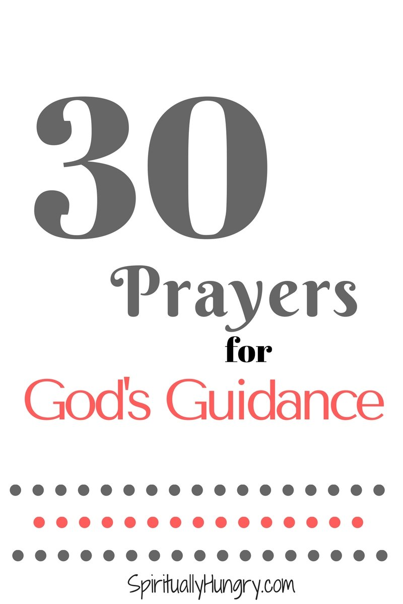 Are you seeking some prayers for God's guidance and wisdom in your life? Well if so, we have a great list of quick prayers, right in the post, that you can utilize to help you glean God's guidance.