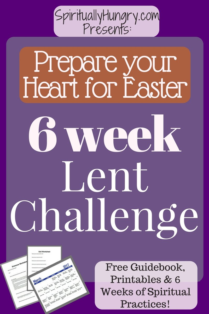 Are you ready to prepare your heart for Easter? Take on this free Challenge, and we'll equip you with everything you need to make this year's Lent the most impactful ever.