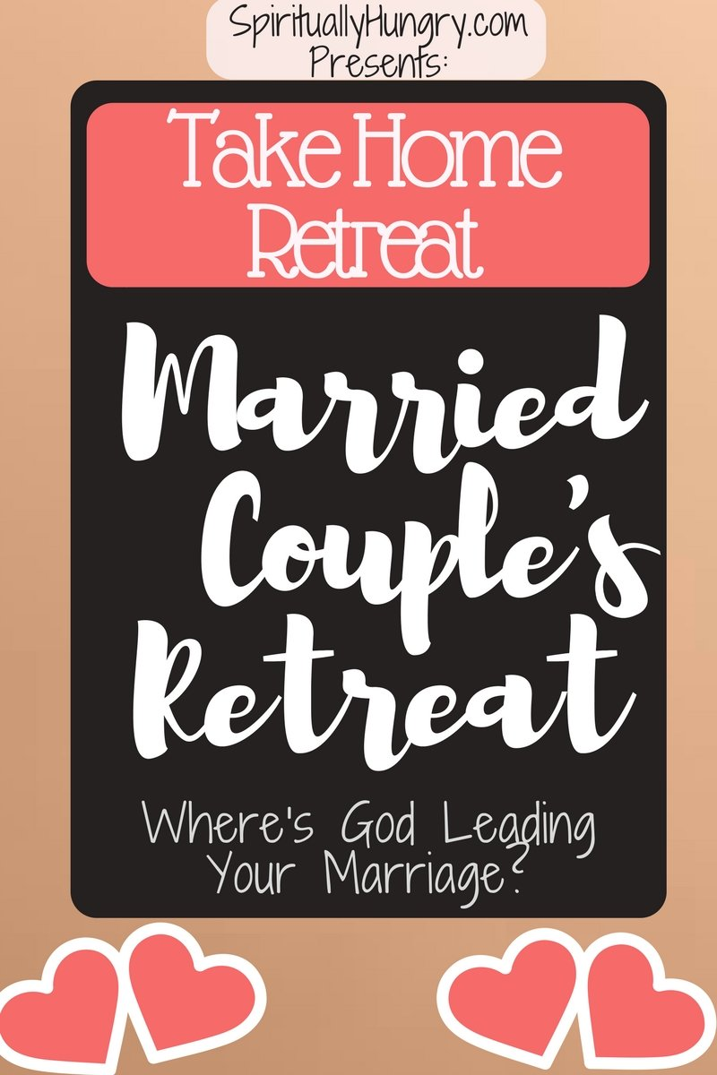 This free take home retreat was designed for busy couples in mind. Do your favorite activities while growing closer to each other and God.