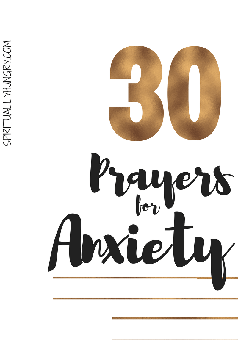 Prayer for anxiety is an essential tool in your box to help you fight the awful feelings of worry and stress. In this post, we provide you with 30 prayers for anxiety that will help you to turn to God in your time of need. We pray that these prayers help you unload your burden into God's good and loving arms.