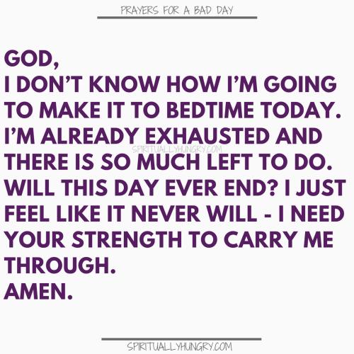 Prayer For Tiredness | Prayers For Tiredness