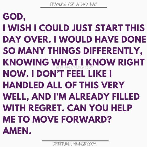 Prayer For A Start Over | Prayers For A Start Over