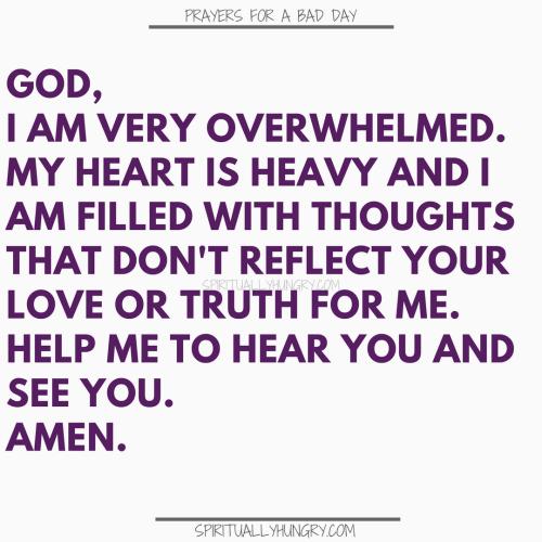 Prayers For A Tough Day | Prayer For A Tough Day