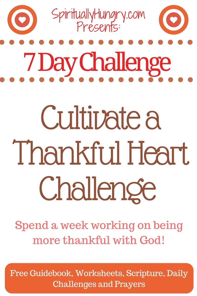 A thankful heart can change your life. It can alter the way you perceive everything around you, and this Challenge invites you be thankful for what God over the course of only week.