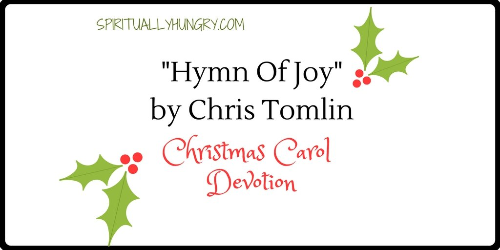 """Hymn Of Joy"" Christmas Devotional"