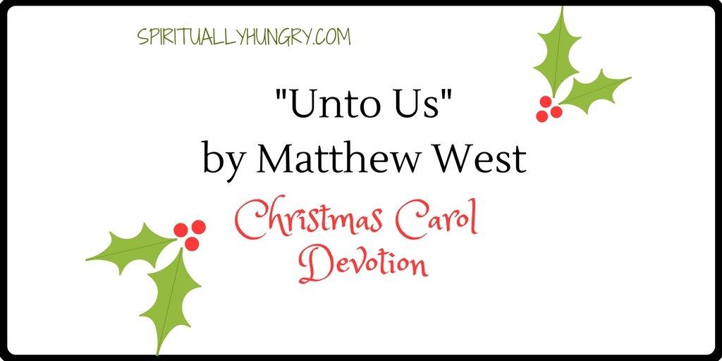 """Unto Us"" Christmas Devotional"