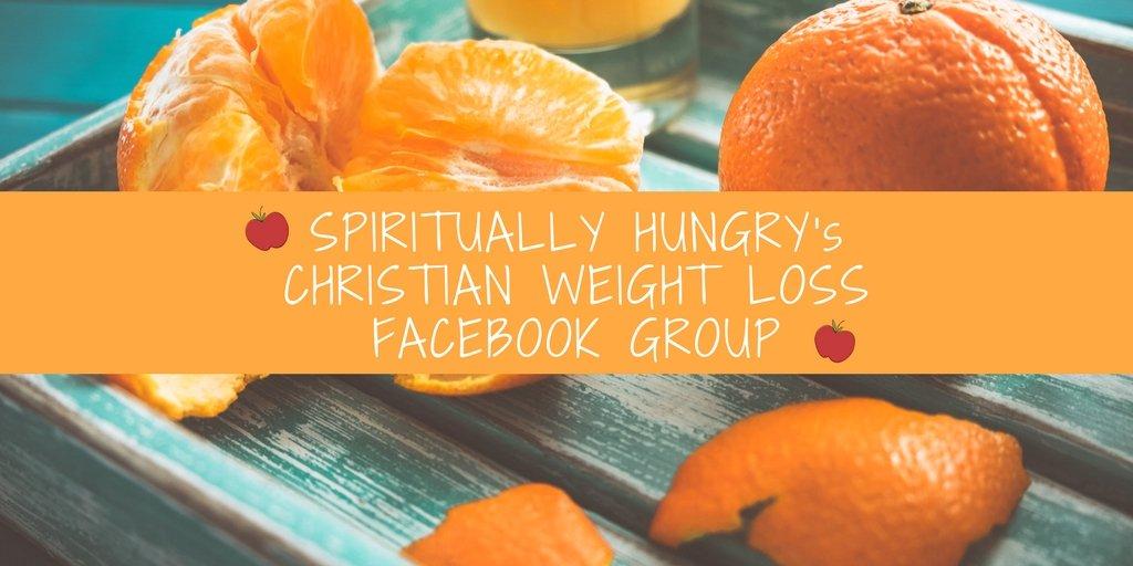 A Christian Facebook Weight Loss Group