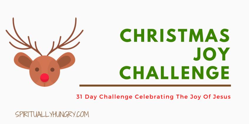 Christmas, 30 Day Challenge, Christian Challenges