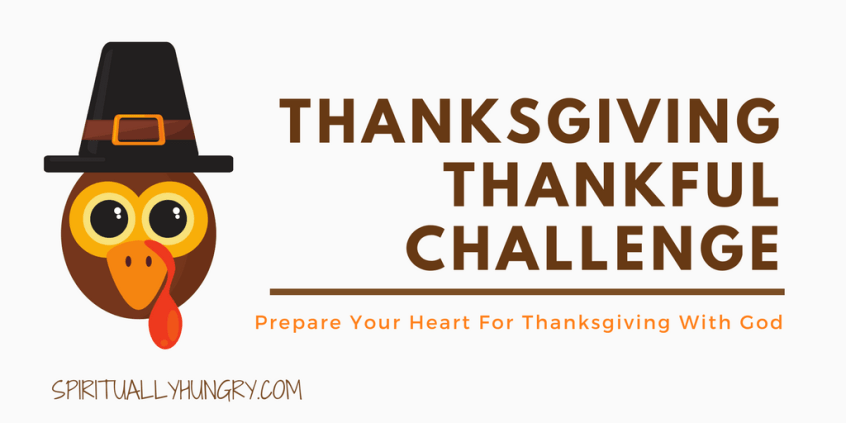 30 Day Challenge, Christian Challenges, Thanksgiving