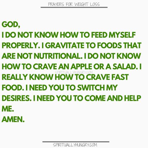 Prayers For Diet | Prayer For Diet