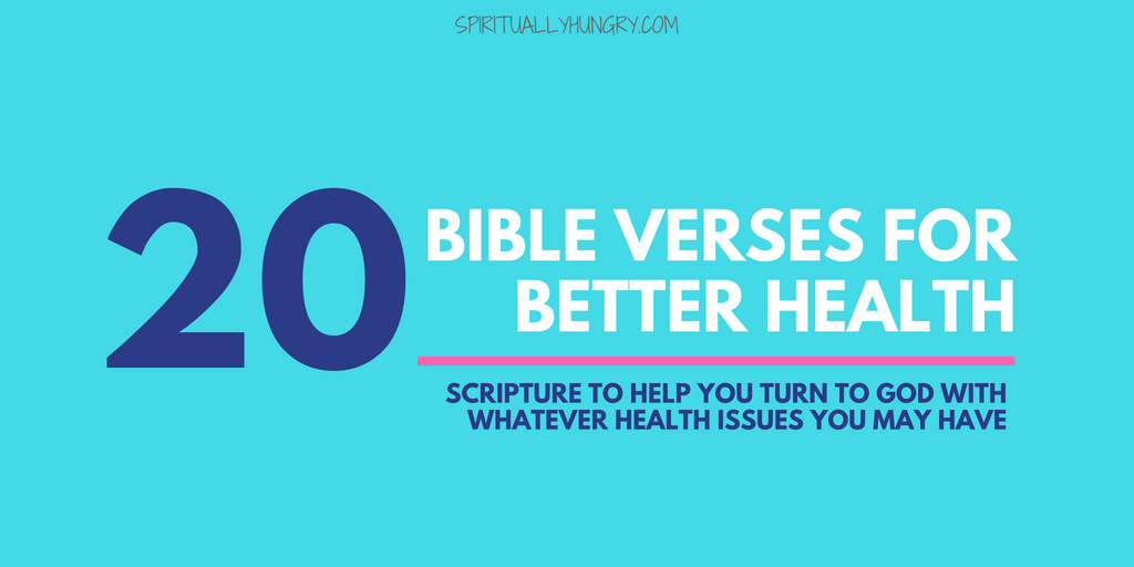 Bible Verses For Health