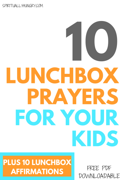 Lunch Prayers