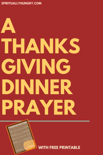 Thanksgiving Prayer | Thanksgiving Dinner Prayer | Short Prayers | Thanksgiving