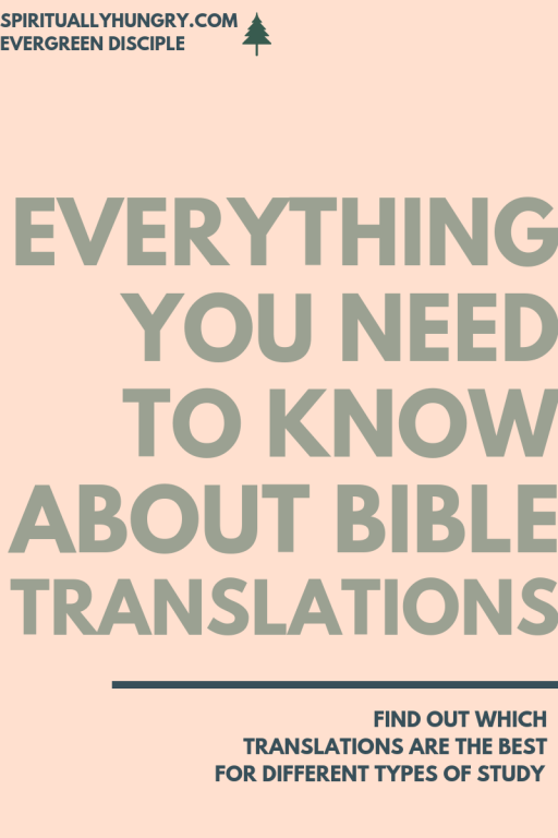 Everything You Need To Know About Bible Translations   Bible Study   Bible