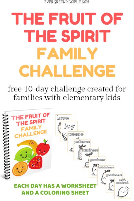 The Fruit Of The Spirit Family Challenge   Family Ministry   Christ-Centered Home