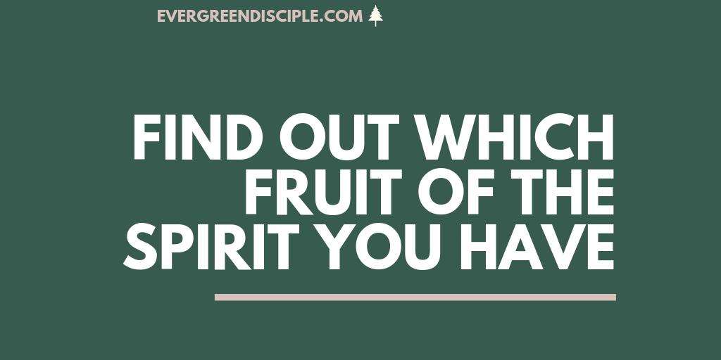 Understanding The Fruit Of The Spirit