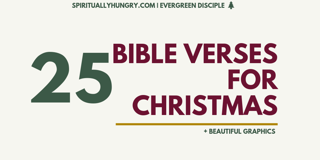 25 Scripture For Christmas