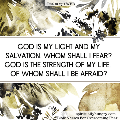 Scripture For Overcoming Fear | Bible Verses For Fear | Bible Study