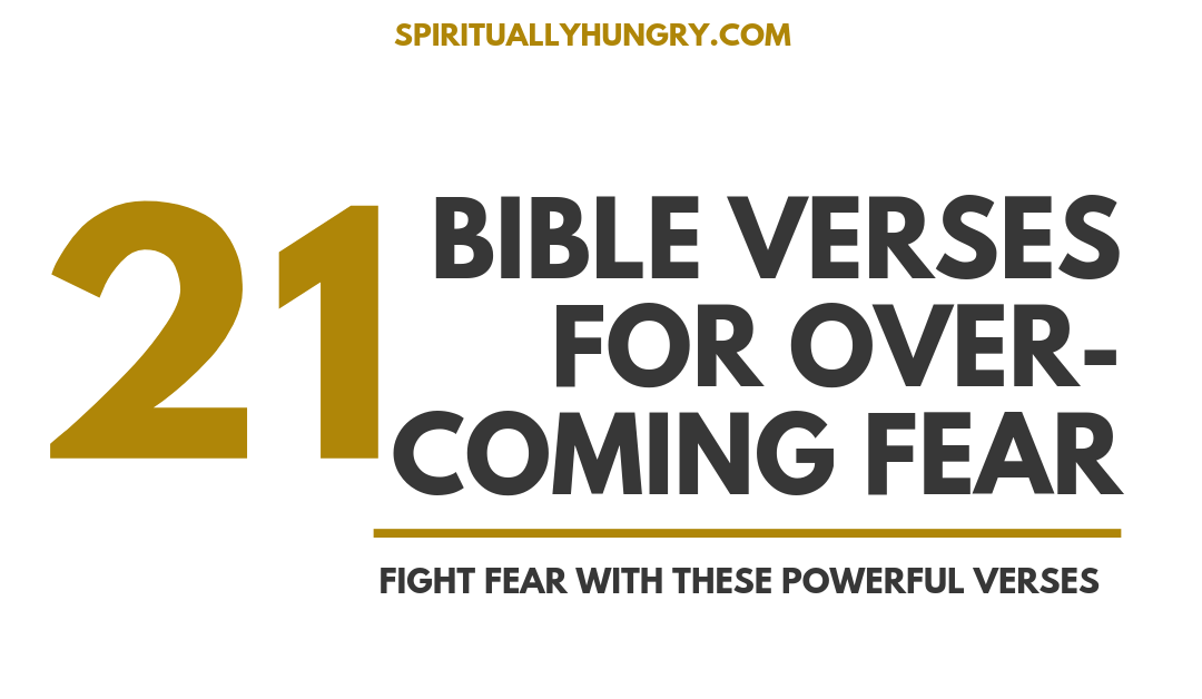 Scripture For Overcoming Fear