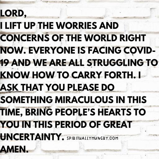 Prayers For Coronavirus | Prayer For COVID-19 | Prayers For Pandemic | Prayers For Healing