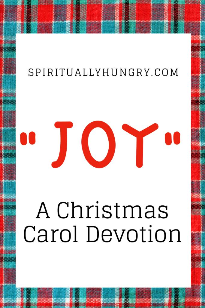 Joy Christmas Devotion | Christmas Devotions | Christmas Devotional