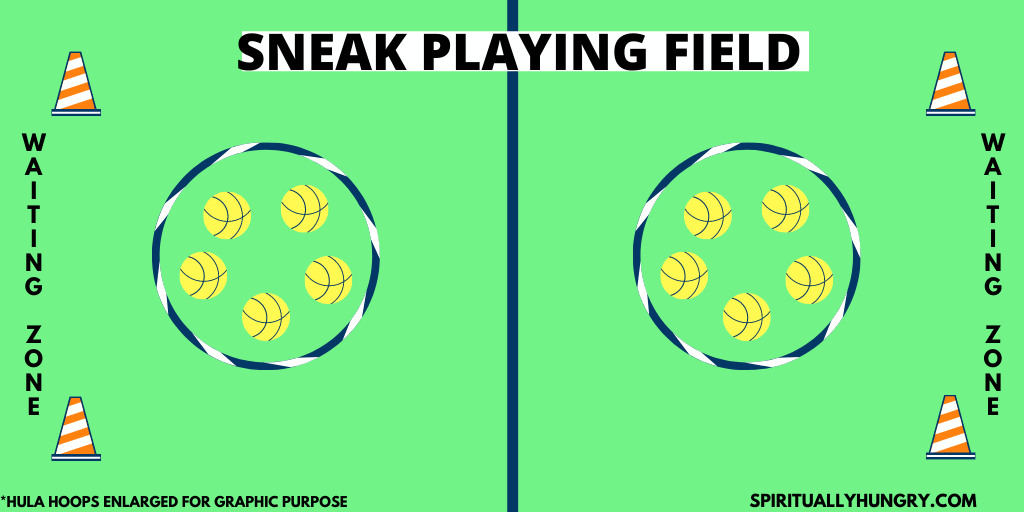 Sneak Game Instructions | Youth Group Games | Games For Youth | No Prep Games