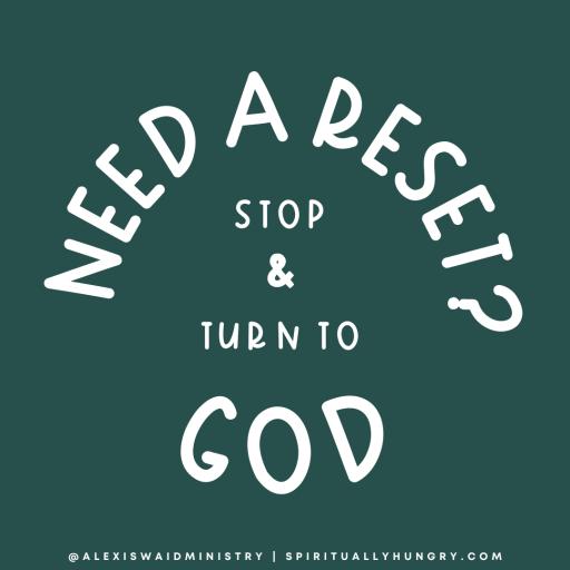 How To Practice The Spiritual Discipline Of Resetting | Spiritual Disciplines | Christian Practices
