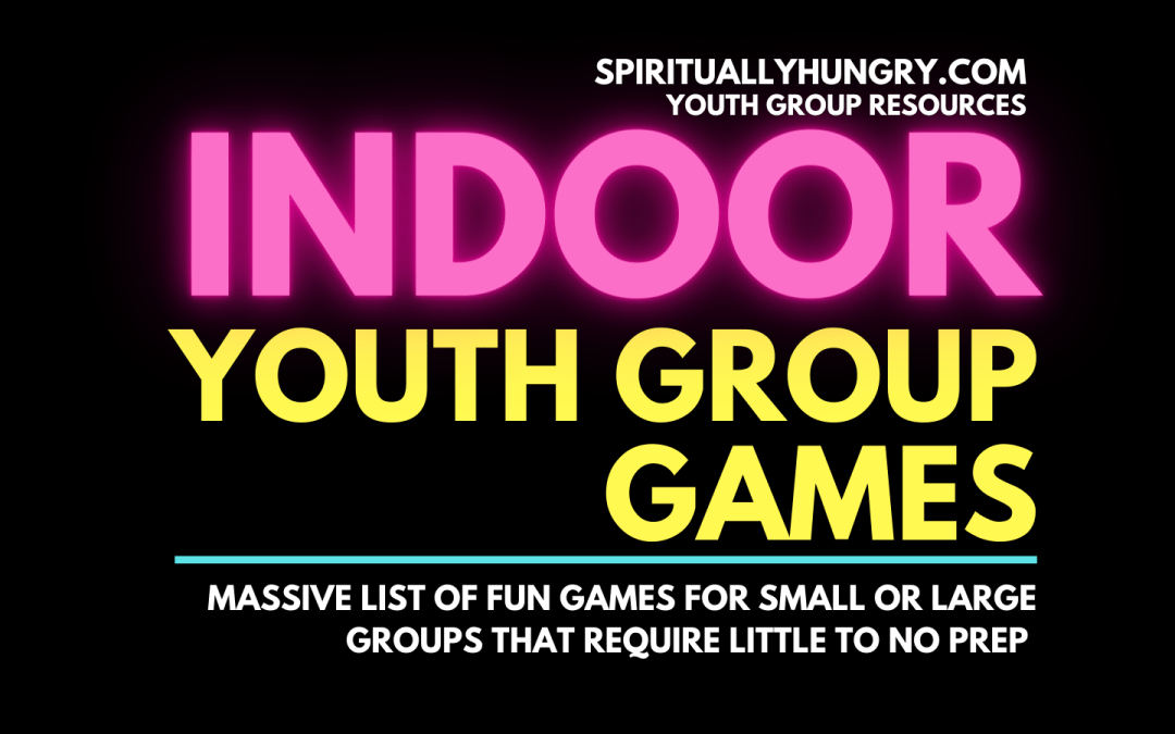 Indoor Youth Group Games | Games For Church | No Prep Games