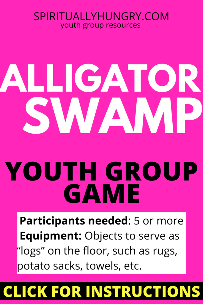Alligator Swamp | Youth Group Games | Games For Youth | No Prep Games