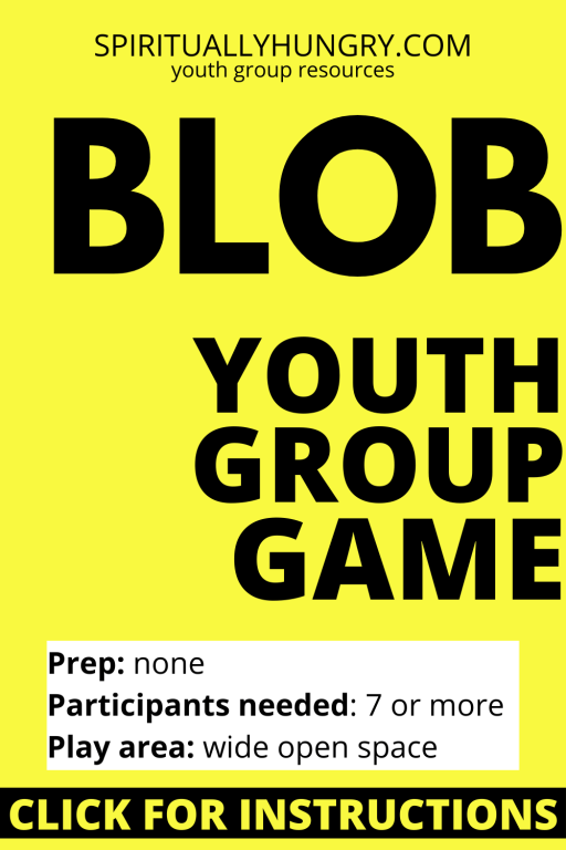 Blob Game Instructions | Youth Group Games | Games For Youth | No Prep Games