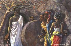 jesus mafa stone rolled away