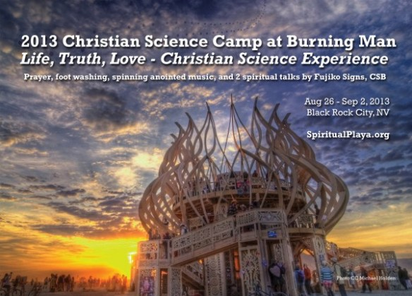 2013 Christian Science Camp at Burning Man